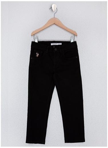 U.S. Polo Assn. U.S. Polo Assn. Siyah Erkek Çocuk Chıno Pantolon Siyah